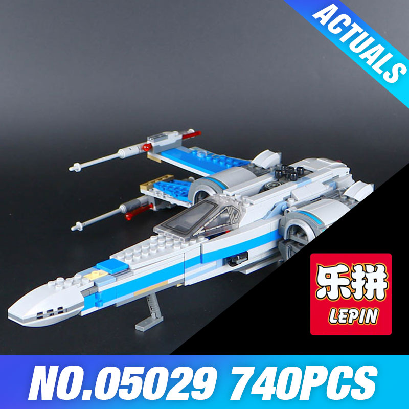 740PCS NEW LEPIN 05029 Star X Wars wing fighter KIDS Building blocks assembled DIY Educational TOY for Children Compatible 75149 roland ink pump motor for fj 740 sj 740 xj 740 xc 540 rs 640 103 593 1041 22435106