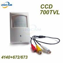 Sony CCD 700TVL Security Indoor CCTV Mini PIR Style Camera pir mini camera pir mini 48pcs IR 940nm Built-in IR Cut Night vision 2000tvl sony ccd ir outdoor