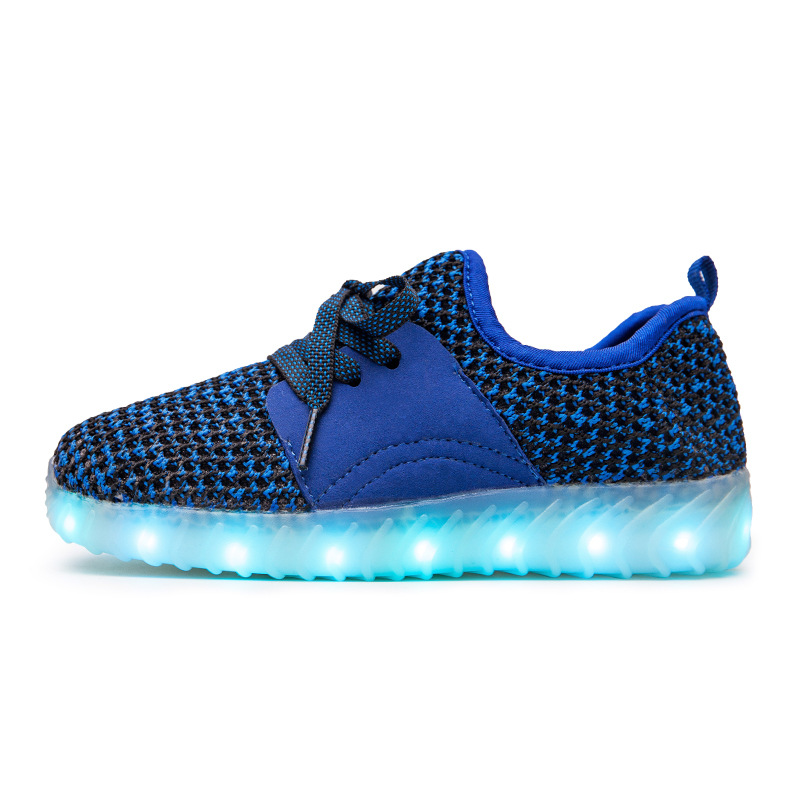 Led Sneakers Mesh v2 Kids 25