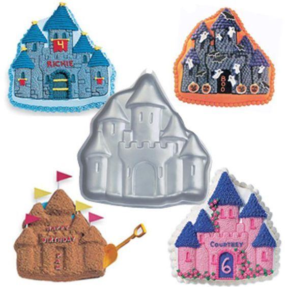 Princess Castle Cake Birthday Idea