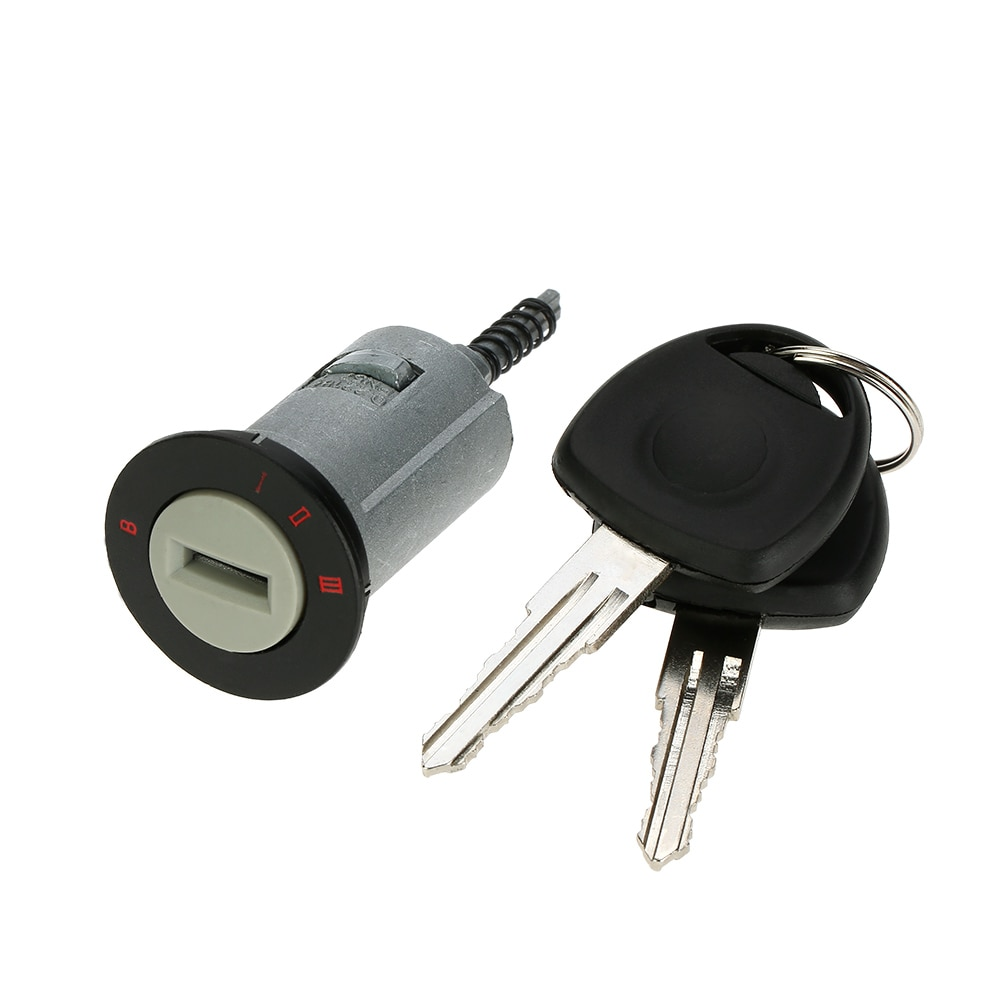 Car Ignition Lock Barrel For Vauxhall Astra Corsa Zafira Meriva Tigra 2 Keys