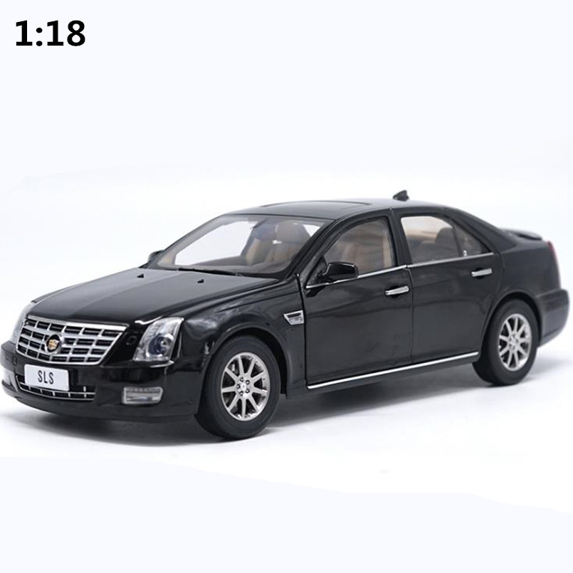 High simulation Cadillac SLS car model 1:18 advanced alloy collection toy vehicle,diecast metal model,free shipping цена