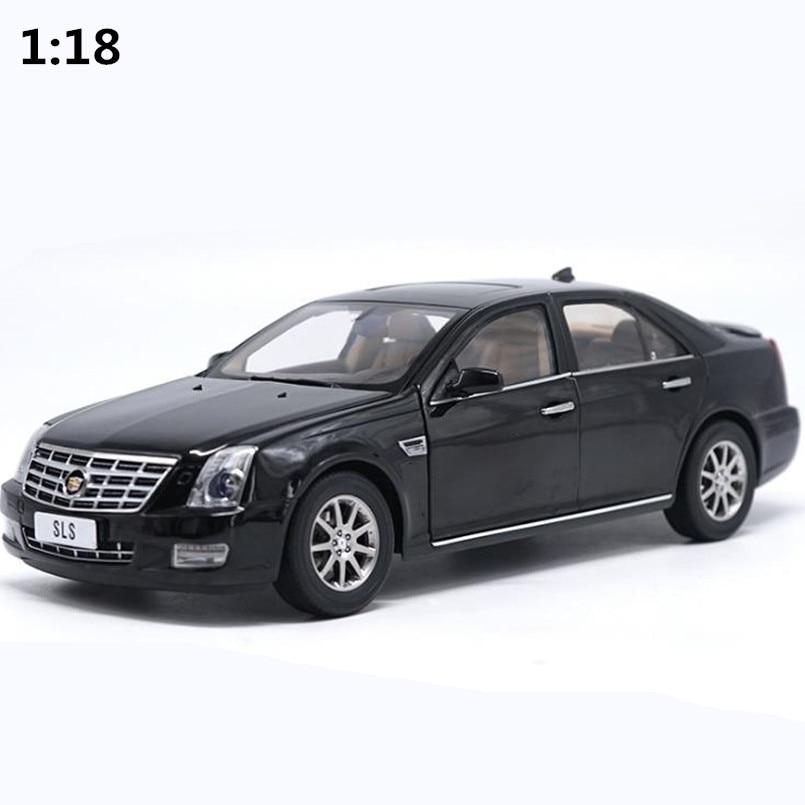 High simulation Cadillac SLS car model 1:18 advanced alloy collection toy vehicle,diecast metal model,free shipping цены онлайн