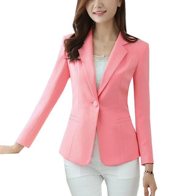 2018 señoras blazer femenino Plus size 5XL formal chaqueta blanco Blaser  femenino negro blanco mujer traje fb35c4c875f7