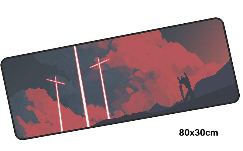 Evangelion Коврик для мыши gamer 800x300 мм notbook коврик для мыши большой игровой коврик для мыши большой красочный Коврик для мыши PC стол padmouse