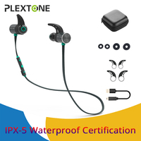PLEXTONE BX343 Sports Wireless Headset Earphones In Ear Wireless Magnetic Bluetooth Headphones With Mic Microphone Mini