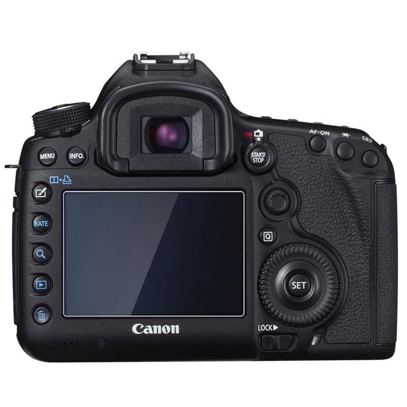 цена на PCTC 10PCS For 5D III IV 5D Mark 3 4 DSLR Camera Tempered Optical Glass HD LCD 9H Screen Protector Cover Film