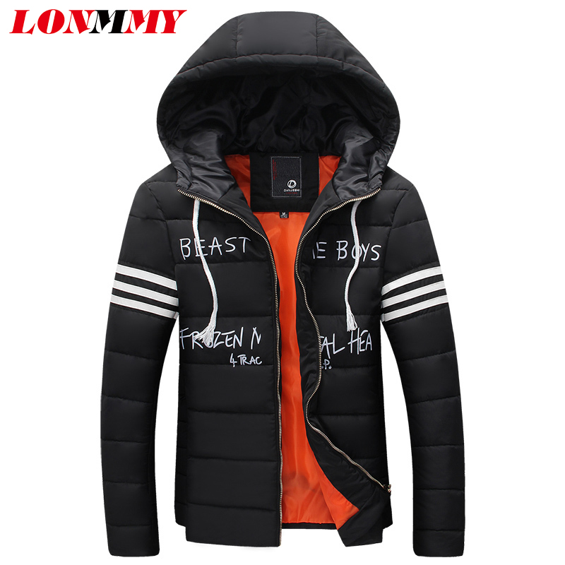 LONMMY M-3XL Winter jacket men Thicken mens parka jackets hood Casual coats male clothes New 2016 brand clothing  -  LONMMY store
