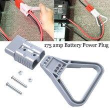 Новое поступление продуктов 175AMP разъем 175A трейлер двойной аккумулятор Быстрый Connerctor Для караван 12 В 24 В 175A с серой ручкой