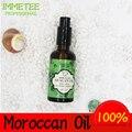 Venta caliente Marruecos Aceite de Argan para el estilo de la Reina del pelo 50 ml orgánica Aceite de Argan para el tratamiento de peluquería para todo el pelo tipos