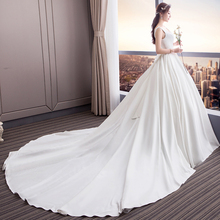 HIRE LNYER Robe de Mariee Ball Gown Wedding Dresses Sleeve