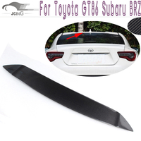 Carbon Fiber Rear Roof Spoiler Lip Fit For Toyota GT86 Scion FR S Subaru BRZ