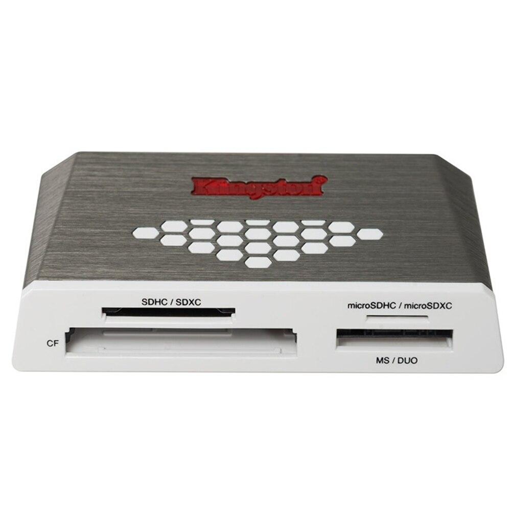 Kingston Numérique USB 3.0 SD TF CF Microsd Lecteur de Carte Salut-Vitesse Médias Tout-en-un Externe USB Adaptateur
