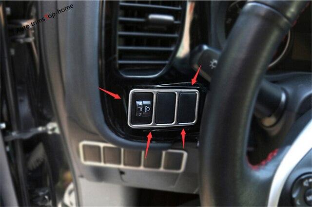 For Mitsubishi Outlander 2015 2016 2017 Dashboard Steering Wheel