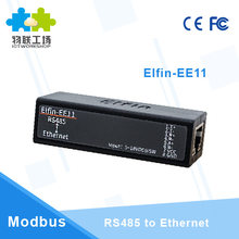 MINI RS485 serial server to Ethernet ModbusTCP serial to Ethernet RJ45 converter with embedded web server(China)