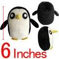 """50 шт./лот приключения время плюшевые игрушки ледяной король Pet пингвин 6 """" аниме супер мягкие куклы бесплатная доставка EMS"""