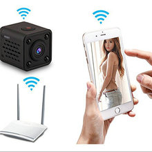 Free Shipping Mini Wifi IP Camera Support Phone View Video Recorder wireless CCTV IP Camera Button DV Camcorder