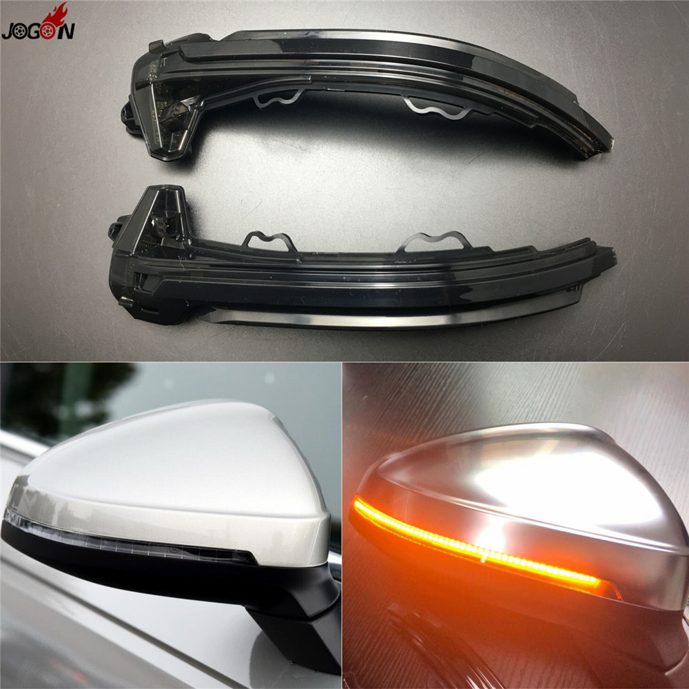 LED Side Wing Rearview Mirror Indicator Blinker Repeater Turn Signal Light For Audi A4 S4 RS4 B9 2016 2017 & A5 S5 RS5 2017 citall 2pcs soft turn signal light 13 led car auto side door mirror light indicator for audi a4 bmw e90 nissan chevrolet cruze