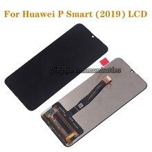Orijinal ekran için Huawei P Akıllı 2019 dokunmatik lcd ekran mükemmel değiştirir p akıllı (2019) lcd mobil ekran onarım parçaları