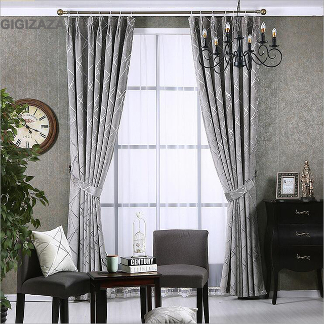 Aliexpress.com : Buy Newchenille blinds jacquard fabric curtain ...