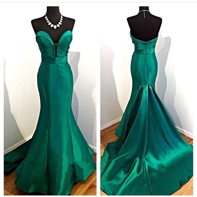 Bottle Green Ladies font b Dresses b font for Prom Night Off the Shoulder Backless Fashionable