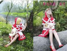 lol game sexy lovely Annie cosplay costume