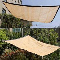 Encryption Edging Balcony Home Insulation Sunscreen Net Meaty Shade Network with Rope Plant Cloth Window Canopy Cover Sunblock