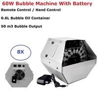 60W 0.6L Mini Bubble Machine Professional DJ Bar Party Show Machines High Output Automatic Stage Bubbles Maker EU/US/UK/AU Plug
