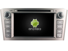 Android 5.1.1 CAR Audio DVD player FOR TOYOTA AVENSIS 2005-2007 gps Multimedia head device unit receiver BT WIFI