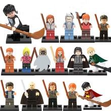 LEGOINGLYS Harry Potter Models Figures Hermione Jean Granger Ron Weasley Lord Voldemort Building Blocks DIY Toys