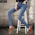 Hot Sale Women Black Skinny Jeans Spring Autumn Winter Plus Velvet Slim Warm Pencil Jeans Woman Femme Ladies Stretch Pants