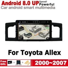 ZaiXi IPS Android 2 DIN Car DVD GPS For Toyota Allex 2000~2007 Navigation multimedia player HD Screen Stereo radio WiFi system цена