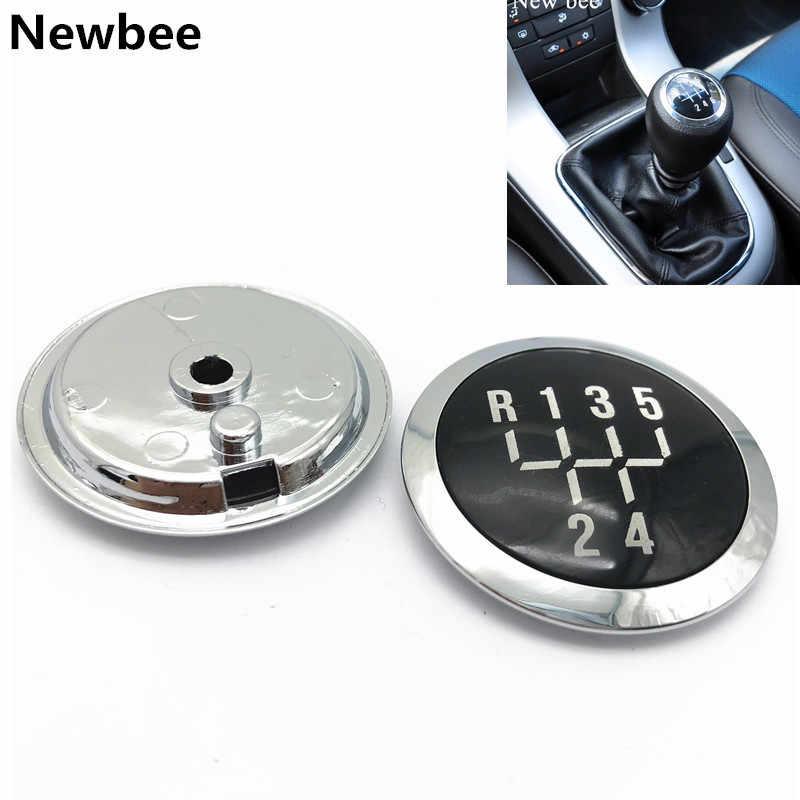 5/6 hız manüel vites topuzu kapatma başlığı amblemi Chevrolet Chevy / Cruze 2008-2012 araba Styling aksesuarları kolu sopa kalem