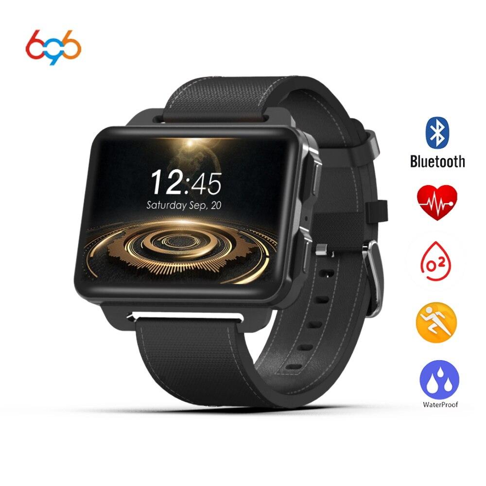 696 DM99 3g réseau smart watch Android 5.1 OS 1 gb RAM 16 gb ROM 2.2 pouce IPS écran construit dans GPS wifi BT4.0