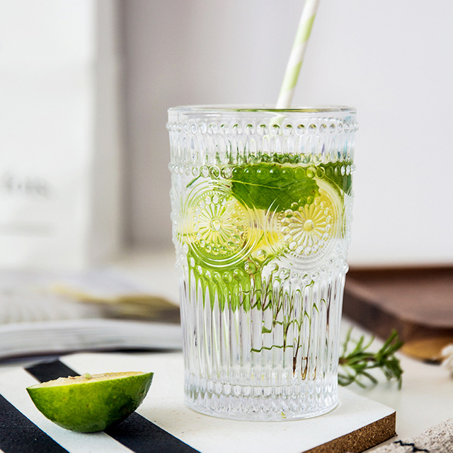 Vintage Style Water Glasses