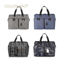 COLORLAND brand casual fashion large diaper bag milk dad baby storage cart package 4 color optional handbag outdoor travel b