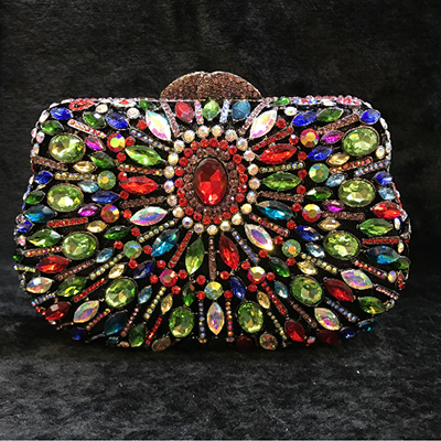 Women Crystal cocktail Evening Clutch Bags gold Diamond Handbags Wedding Party Purse Rhinestones Clutches Banquet bag pink/blue gold clutch evening bags luxury diamond clutch bags women pochette bling handbag handcraft wedding banquet purse bag pink blue