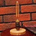 Современная прикроватная Настольная лампа с железной природой E27 110В/220В  Винтажная настольная лампа для спальни  гостиной