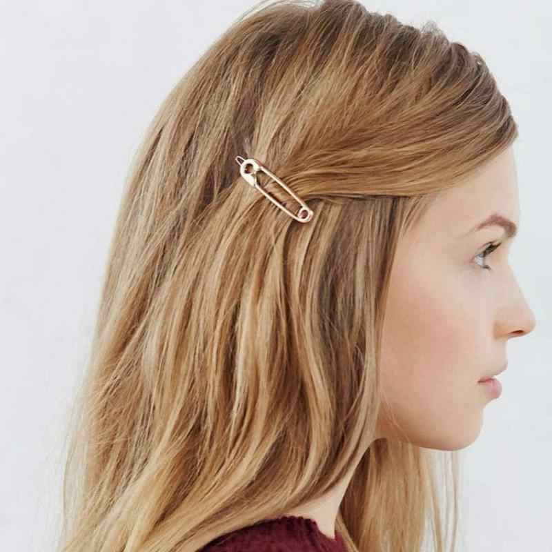 New Metal Pin Hair Clip Girls Vintage Gold Hairpin Princess Women Hair Accessories Joyme Wedding Hair Accessories Decoration