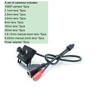HQCAM 2 0 мегапиксельная 1080p Мини ip-камера 1280x1080 H.264 ONVIF  мини Сетевая камера 2 1 мм 2 5 мм 3 6 мм 25 мм 16 мм 6 мм 2 8-12 м объектив