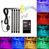USB Car LED5050RGB Multi Color Music Car Interior Light LED Lamp With Voice Control And Wireless