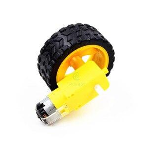 Image 4 - Adeept умный моторный робот, автомобильный аккумуляторный ящик, комплект шасси, датчик скорости для Arduino, бесплатная доставка, diykit diy