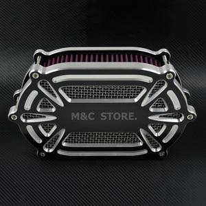 Image 2 - Filtr powietrza motocyklowy filtr powietrza czerwone zestawy dla Harley XL Sportster 04 19 Dyna 00 17 Touring przemieszczanie się po ulicy Road Glide Dyna Softail
