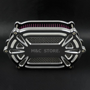 Image 2 - Воздухоочиститель для мотоцикла, красный комплект для Harley XL Sportster 04 19 Dyna 00 17 Touring Street Glide Road Glide Dyna Softail