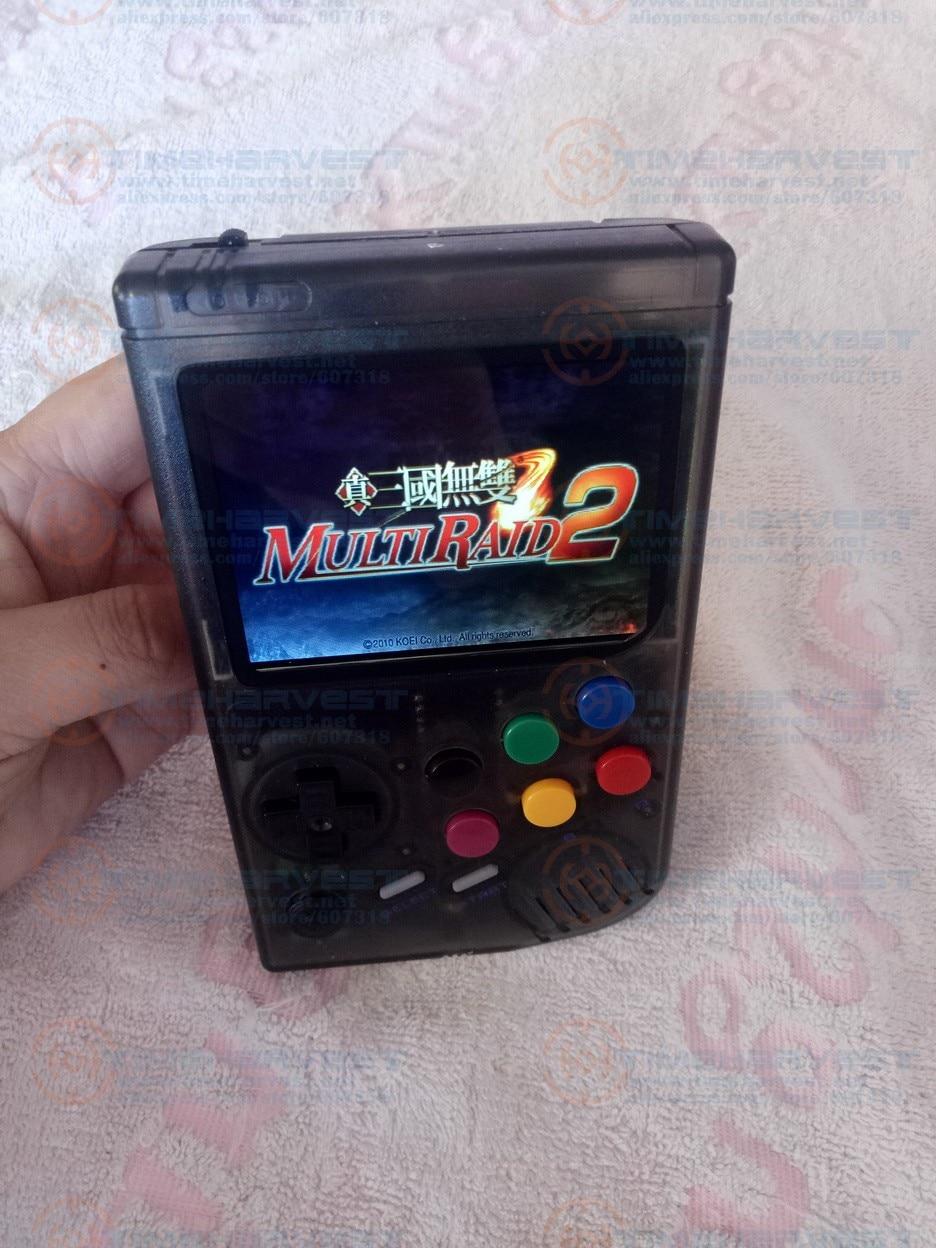 Raspberry Pi gameboy 32G LCL console de jeu de poche avec Super HD IPS LCD joystick de choc il faut réserver et disponible en 20 jours