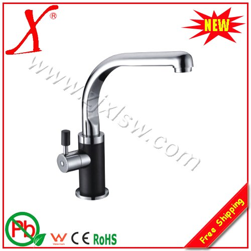 L15528 Deck Mounted Chrome Finish Brass Water Tap