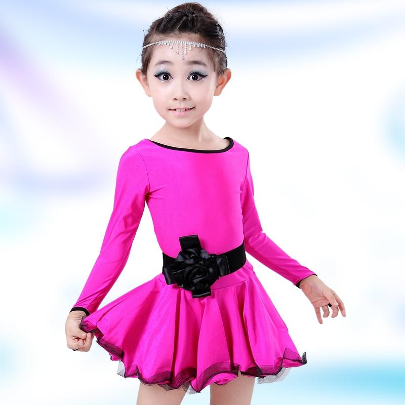 Latin Dance Clothing for Girls Fringe Dance Wear Children's Ballroom Dance Costume