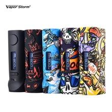Vapor Storm ECO PRO กล่อง MOD 80W ABS Graffiti สีตัวแปร Power โหมด TC 510 บุหรี่อิเล็กทรอนิกส์ VAPE กล่อง MOD ไม่มี 18650