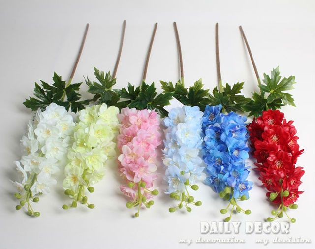 real touch felt artificial latex violet hyacinth flowers fake
