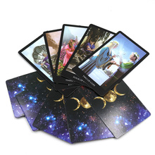 English version sorcerer mythic tarot cards divination tarot deck card game board game for women as Christmas gift (China)